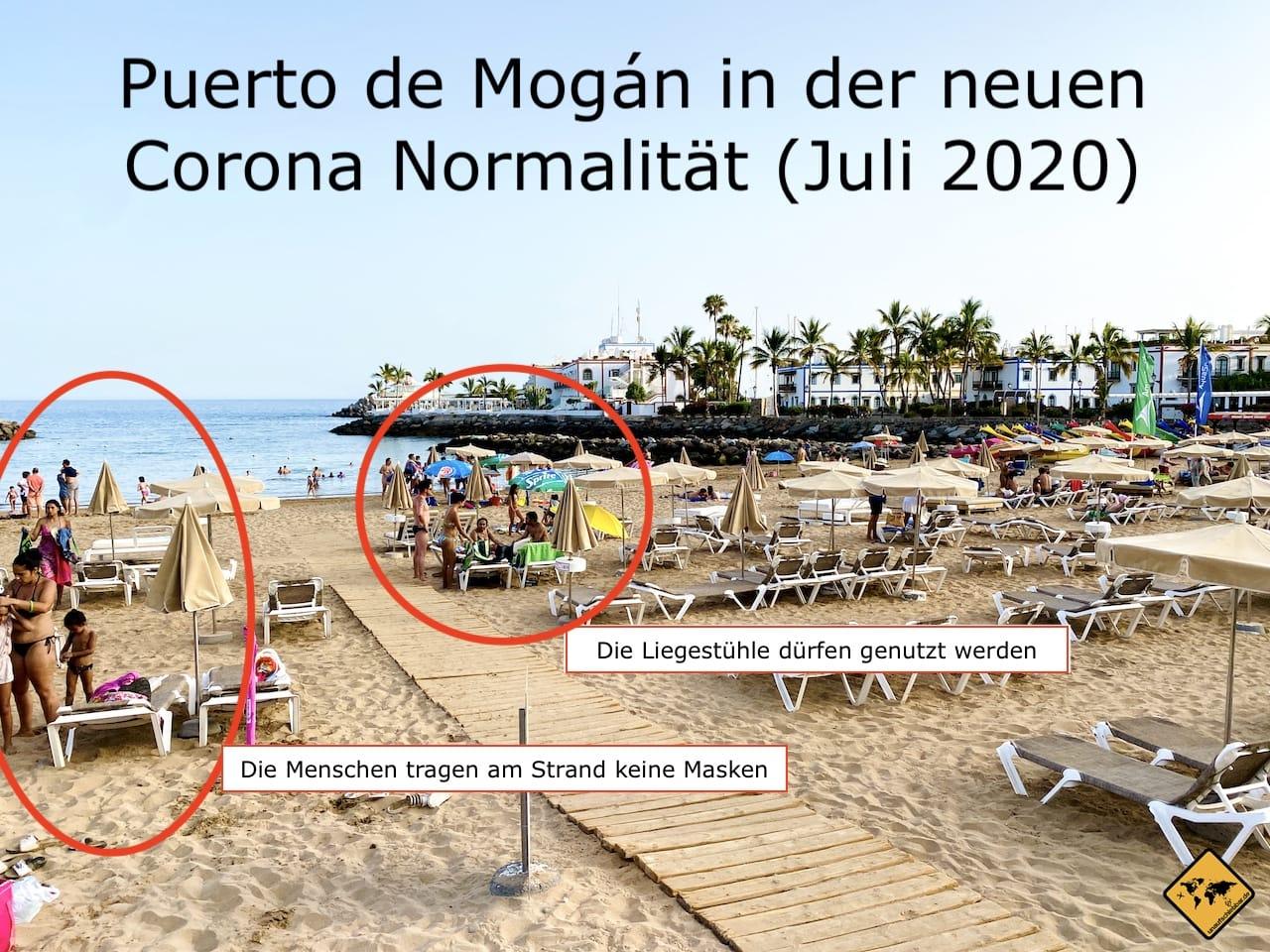 Gran Canaria Strand Puerto de Mogán nach Corona