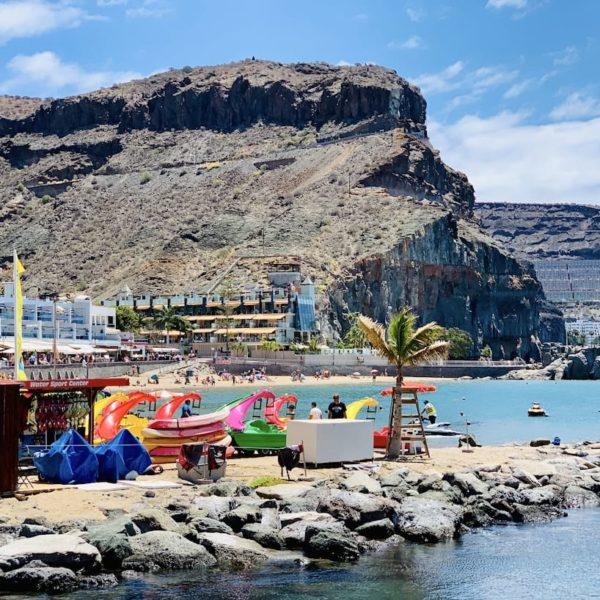 Gran Canaria Wassersport Playa de Mogán