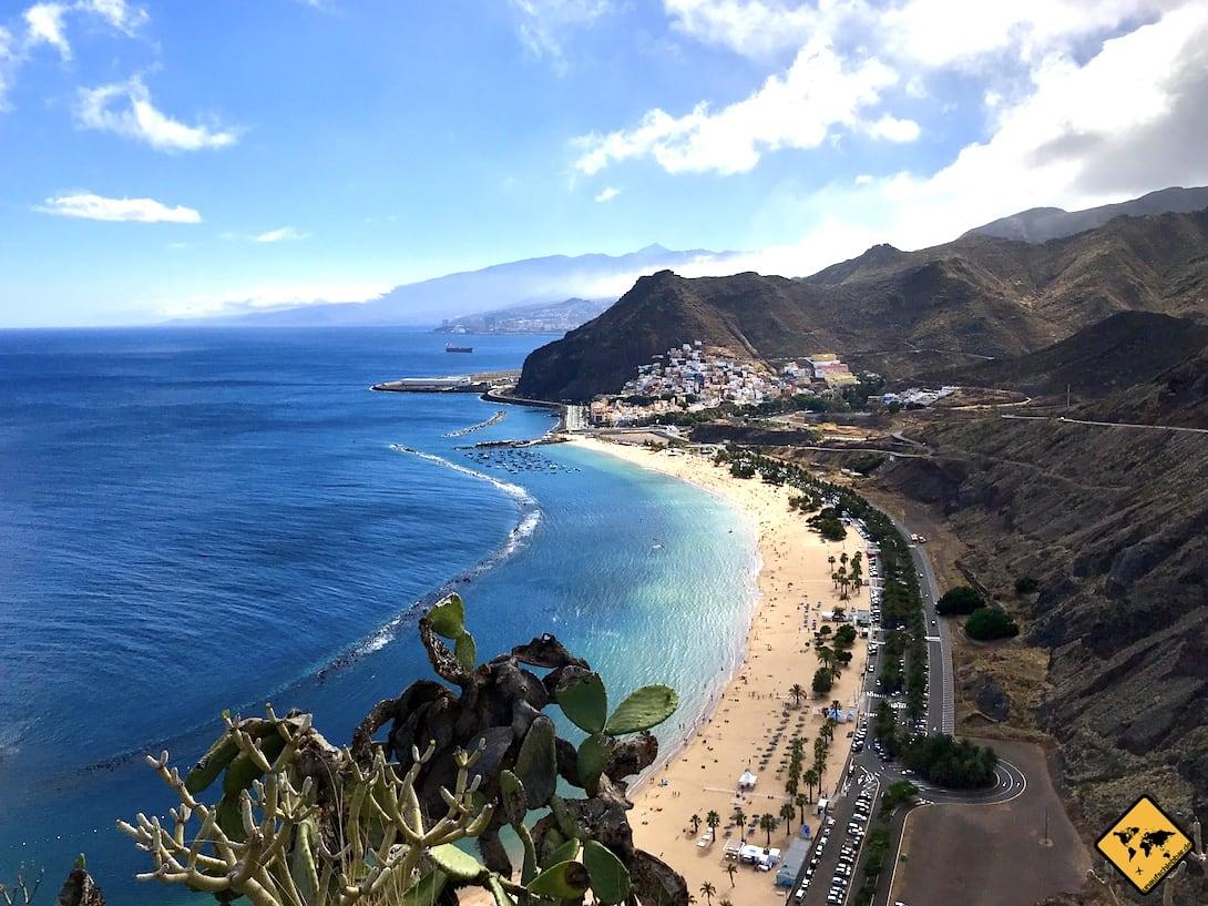 Gran Canaria oder Teneriffa Playa de las Teresitas