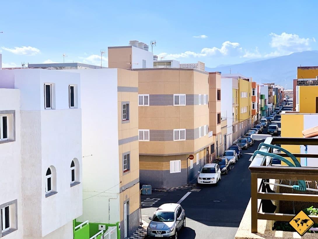 Gran Canaria parken Straßenrand