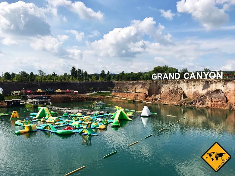 Grand Canyon Chiang Mai Waterpark Luftkissen