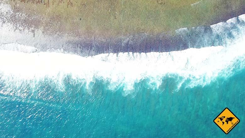 Green Bowl Beach Bali Wasser