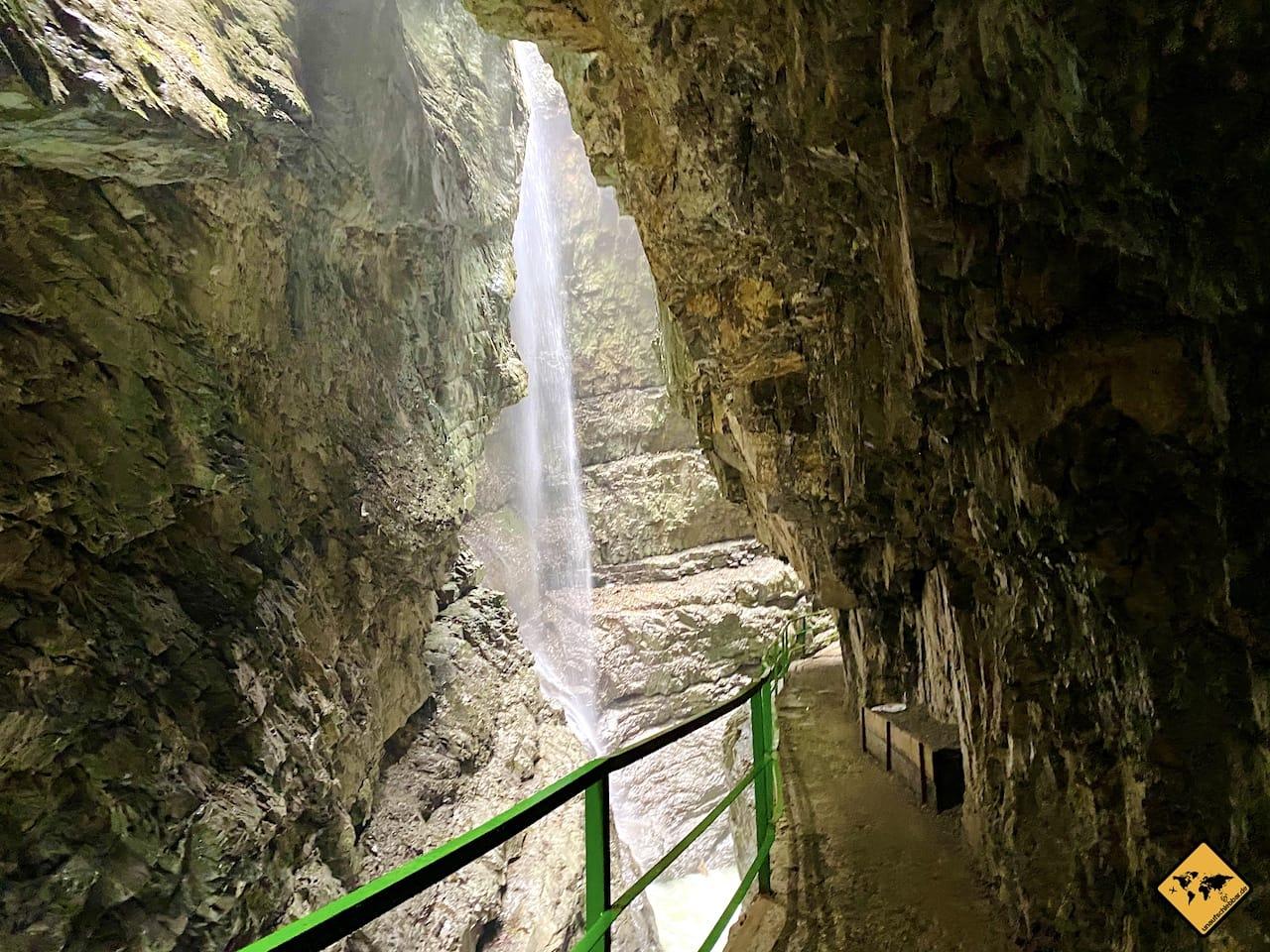 Großer Wasserfall Breitachklamm