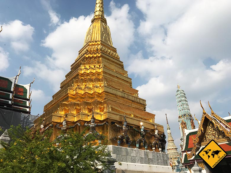 Großer Palast Bangkok Gold