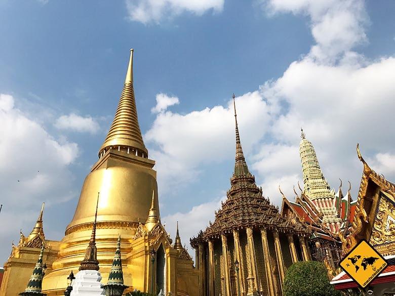 Großer Palast Gold Bauwerke