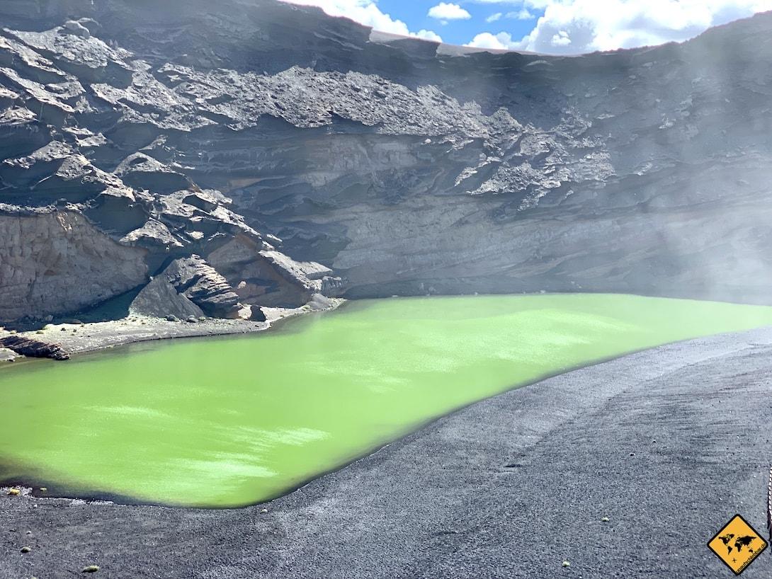 Grüne Lagune El Golfo Lanzarote