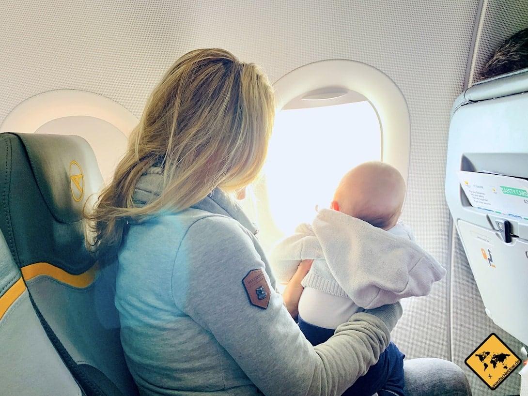 Günstig reisen Tipps Flugzeug