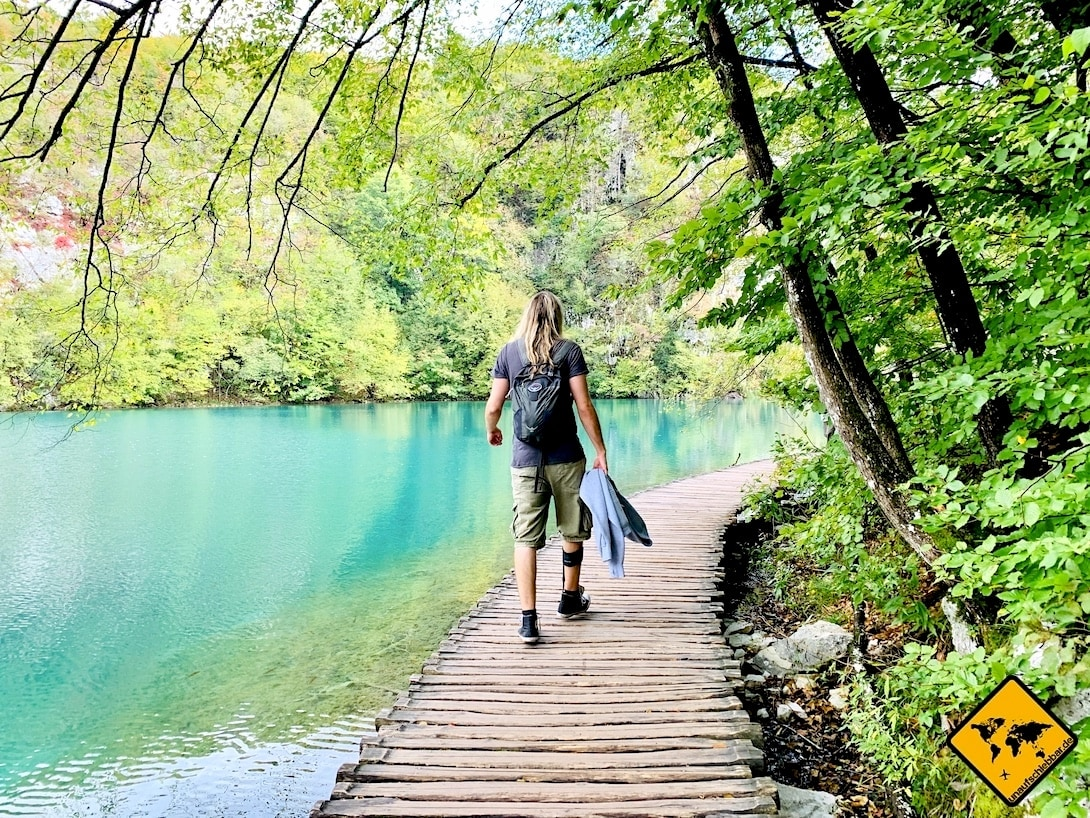 Günstig reisen Tipps Plitvicer Seen Kroatien Nebensaison