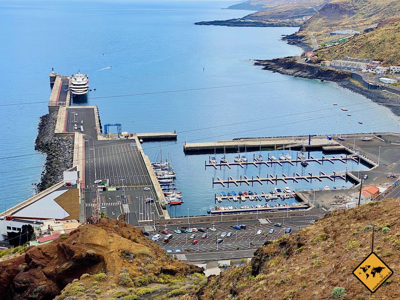 Hafen Anreise El Hierro Puerto de la Estaca