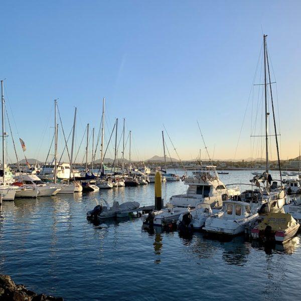 Hafen Corralejo Fähre zur Isla de Lobos