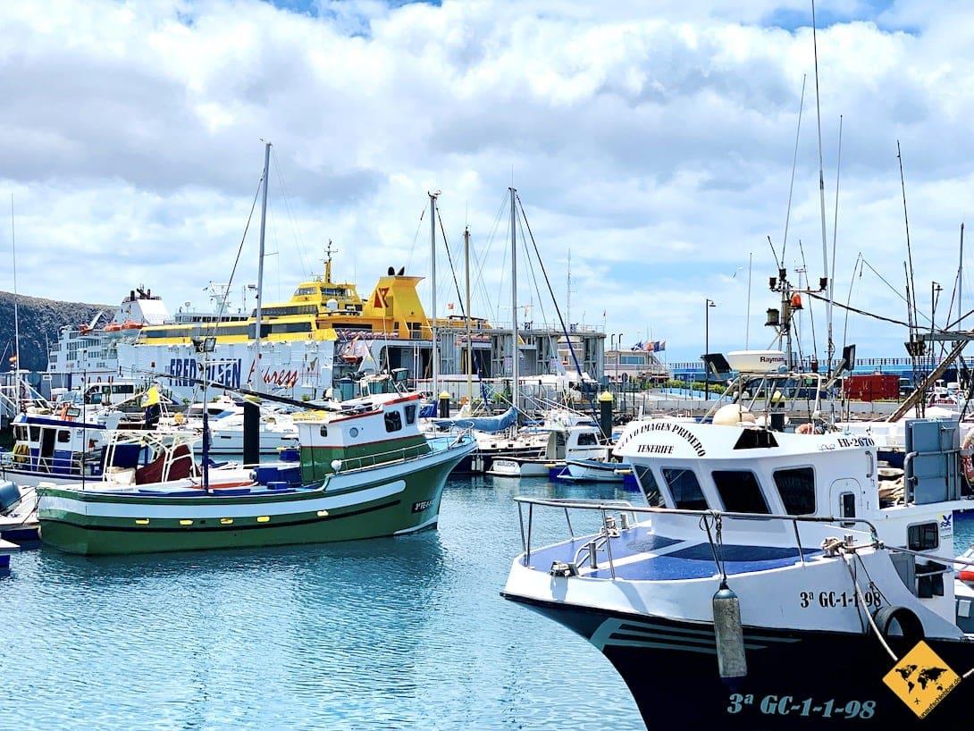 Hafen Los Cristianos Boote