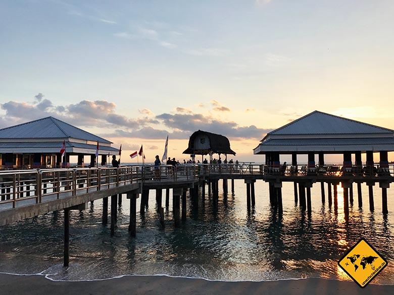 Hafen Senggigi Lombok
