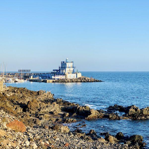 Hafen Turm Las Galletas