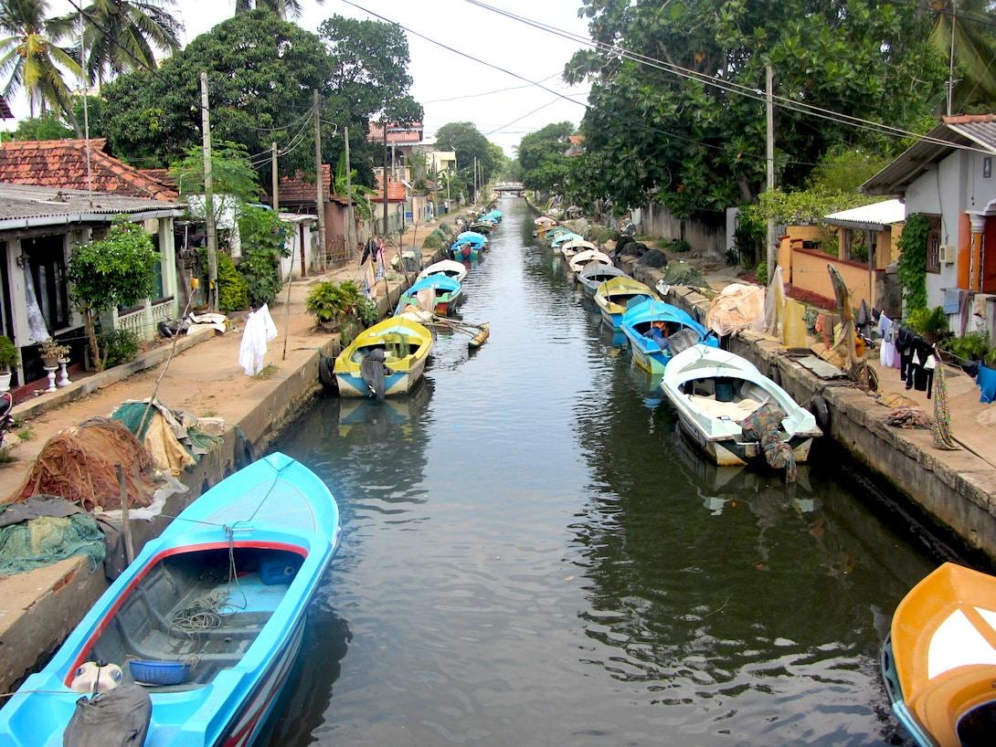 Hamilton Canal Negombo Sri Lanka