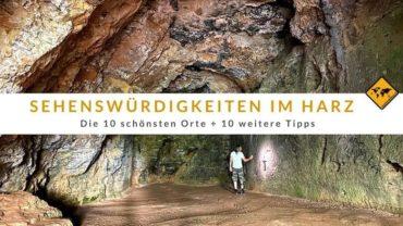 Top 10 Sehenswürdigkeiten im Harz (mit Karte)