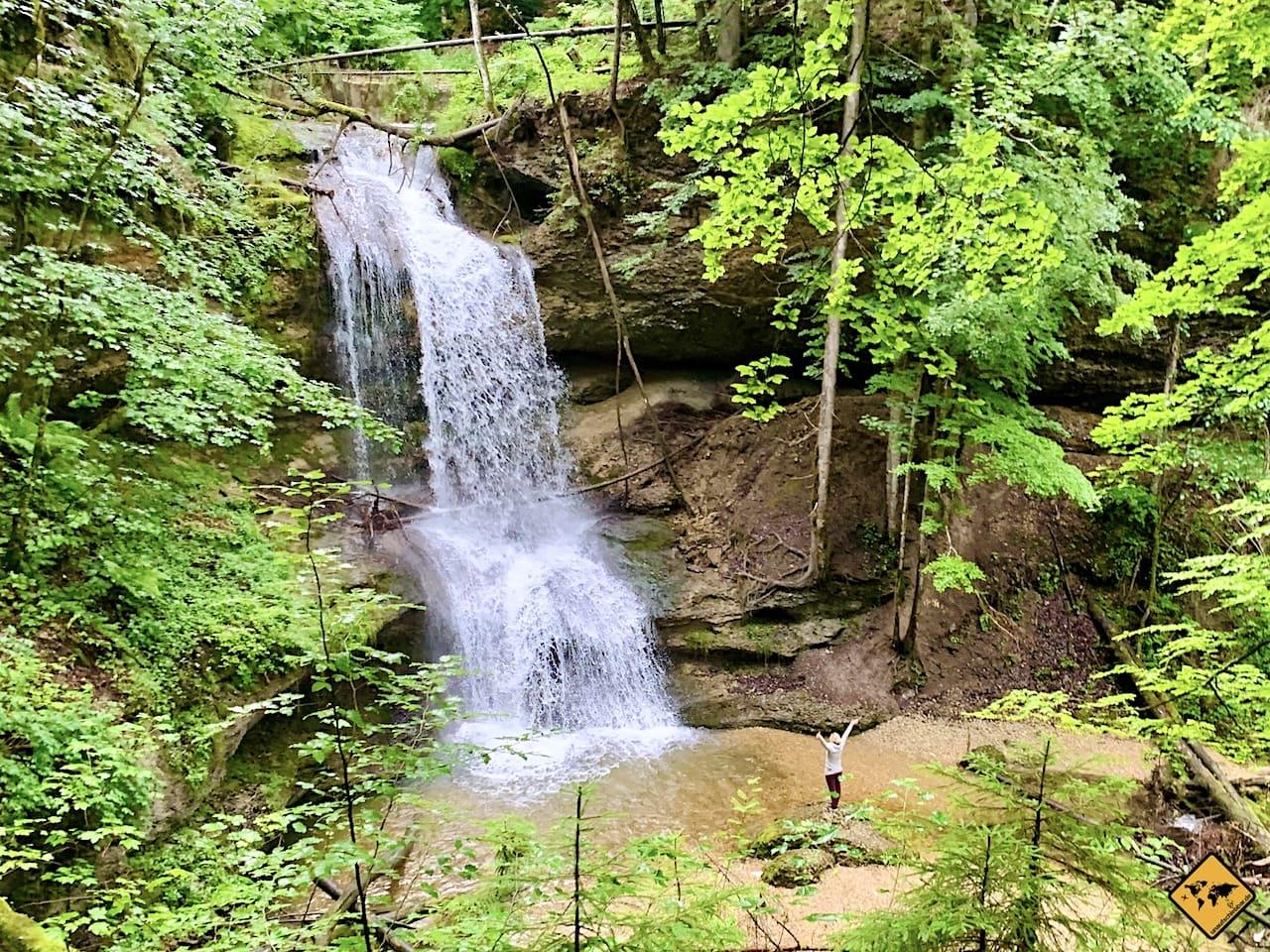 Hasenreuter Wasserfall Scheidegg Allgäu