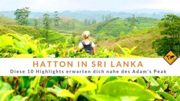 Hatton in Sri Lanka – Diese 10 Highlights erwarten dich nahe des Adam's Peak