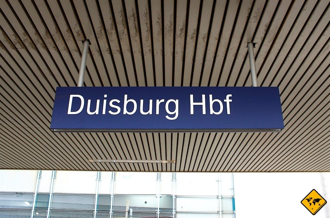 Hauptbahnhof Duisburg Anreise
