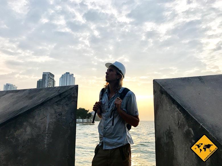 Heiligtum der Wahrheit Thailand Meer