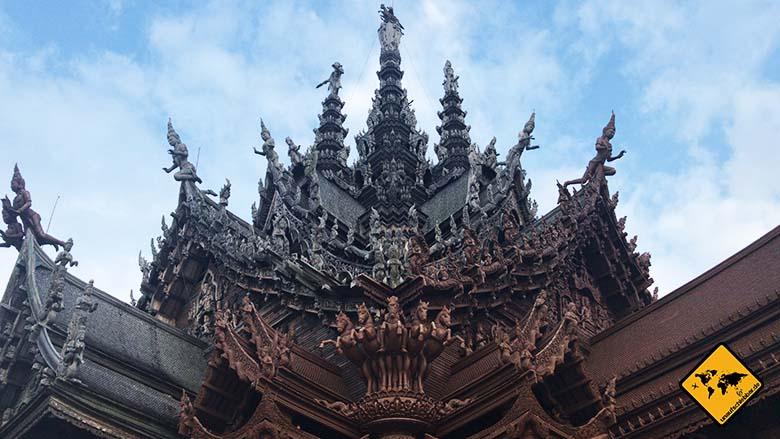 Heiligtum der Wahrheit Thailand