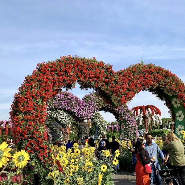 Herz Passage Miracle Garden in Dubai