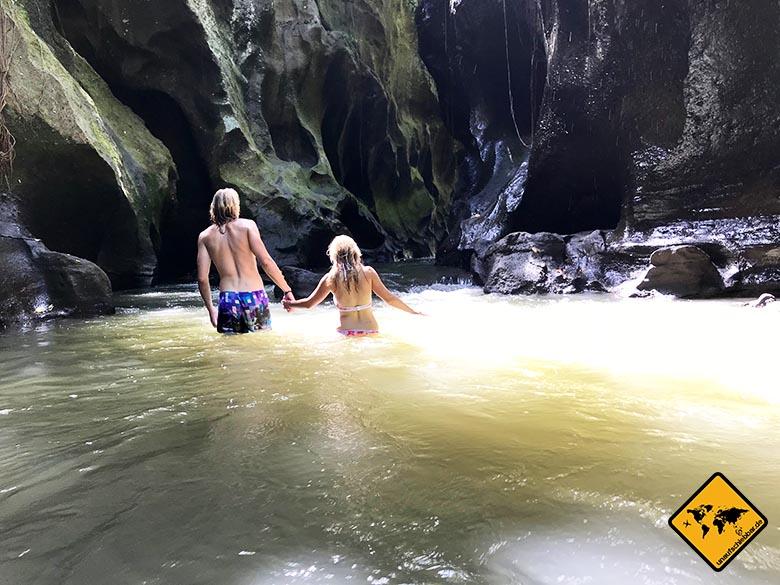 Hidden Canyon Bali Strömung