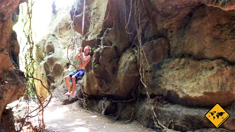 Hidden Canyon Bali Tarzan