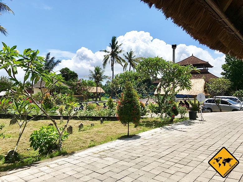 Hidden Canyon Beji Guwang Bali Parkplatz Eingang