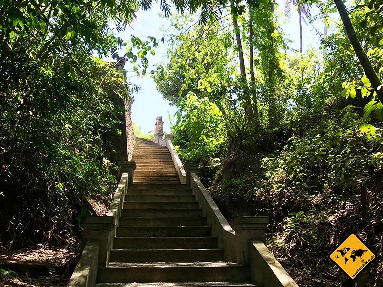 Hidden Canyon Beji Guwang Bali Treppen
