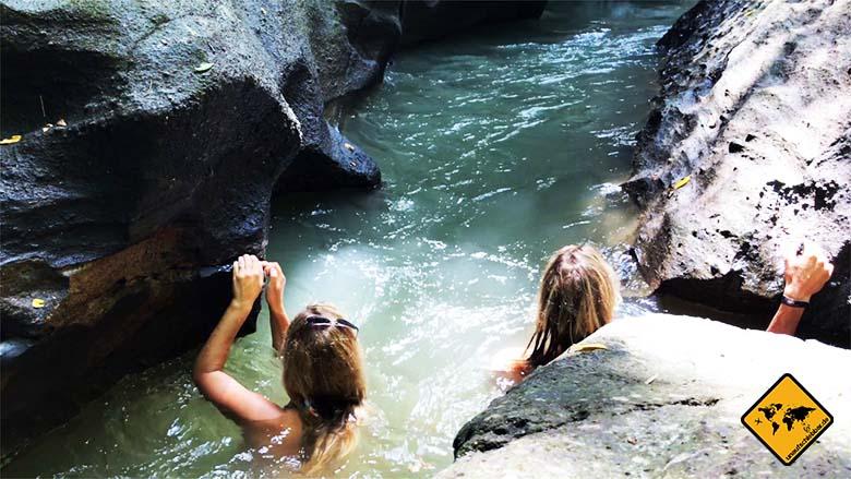 Hidden Canyon Beji Guwang Fluss Strömung