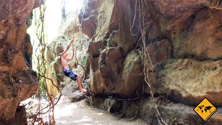 Hidden Canyon Beji Guwang Tarzan