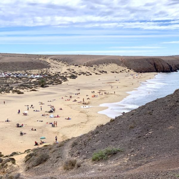 Highlights auf Lanzarote: Papagayo Strand