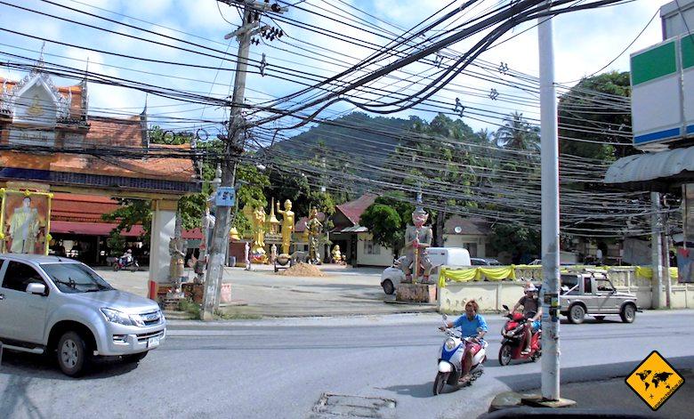 Hin Ta Hin Yai Anfahrt Küstenstraße