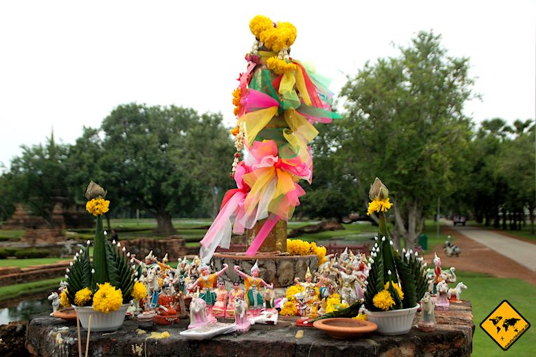 Historical Park Sukhothai Impressionen