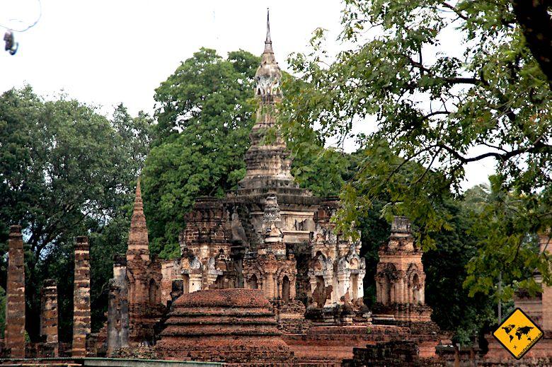 Historical Park Sukhothai Ruinen