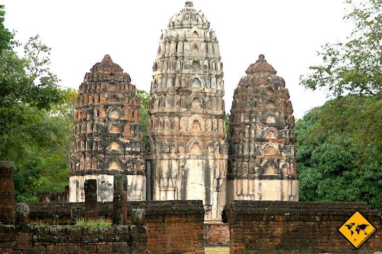 Historical Park Sukhothai Wat Si Sawai