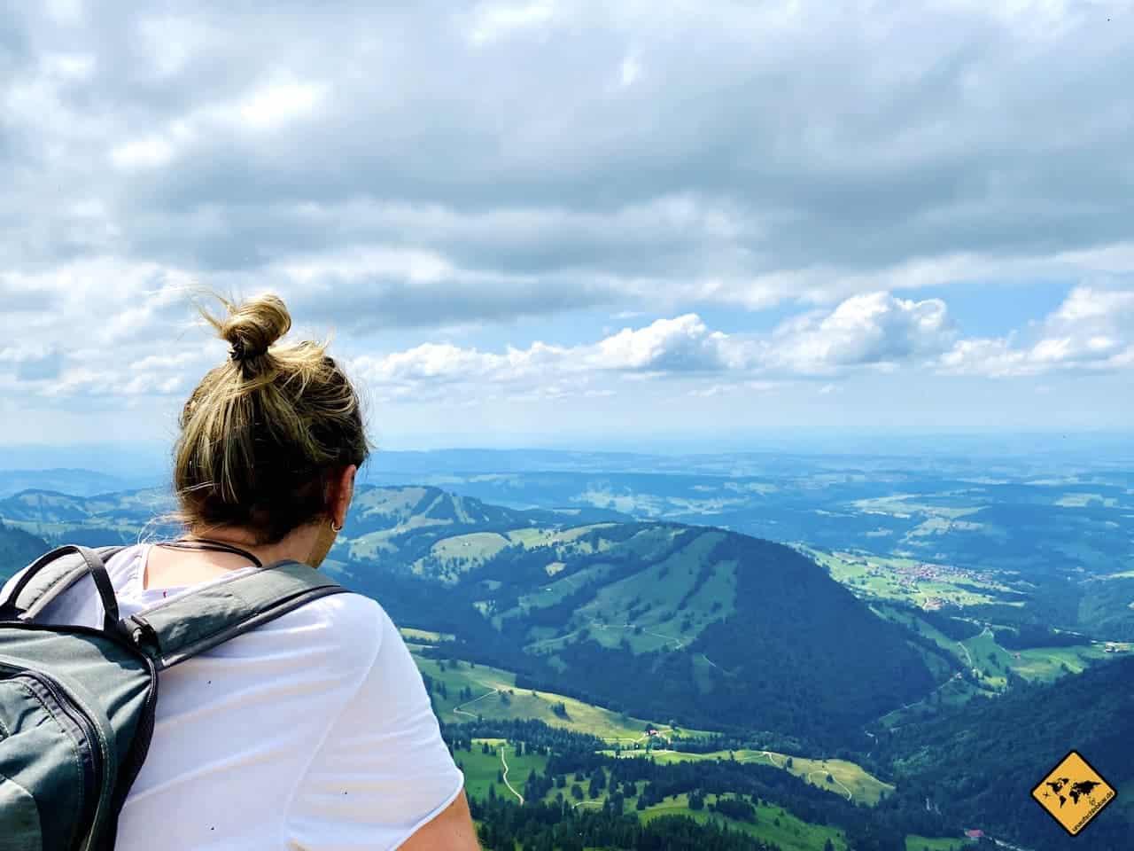 Hochgrat Gipfel Aussicht