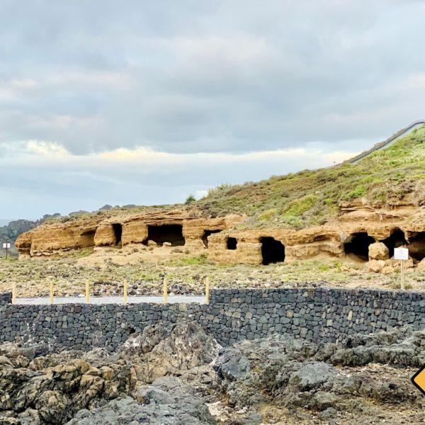 Höhlen Costa Sauzal Teneriffa