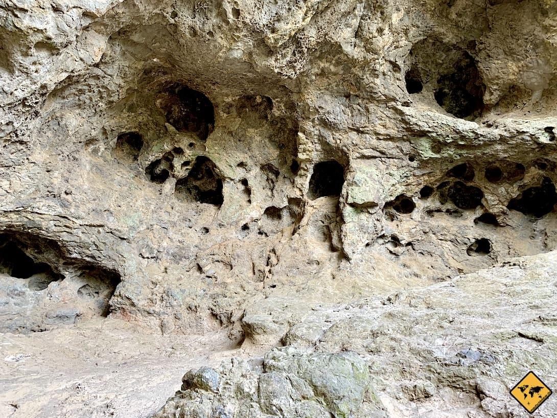 Höhlen Wanderweg Roque Nublo