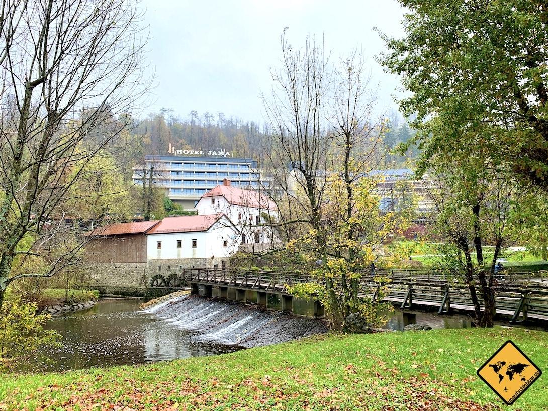 Hotel Jama Postojna Slowenien