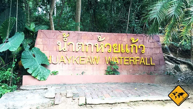 Huay Kaew Waterfall Chiang Mai