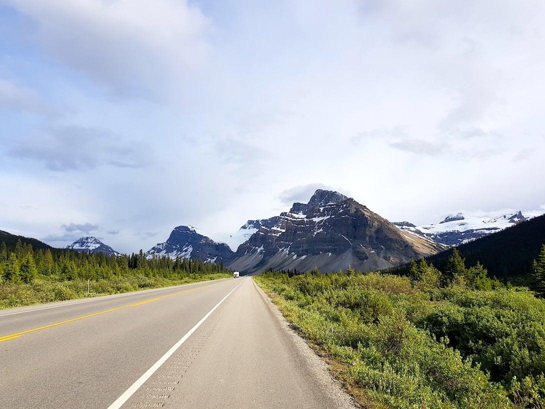 Icefield Parkway Banff Kanada Rocky Mountains