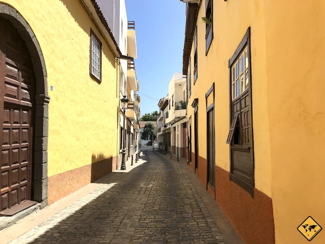 Icod de los Vinos Altstadt Häuser