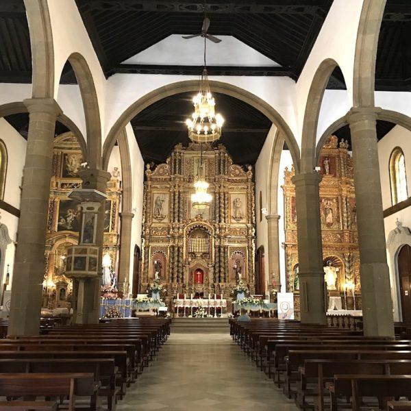Iglesia de Nuestra Señora de la Peña de Francia Puerto Cruz innen
