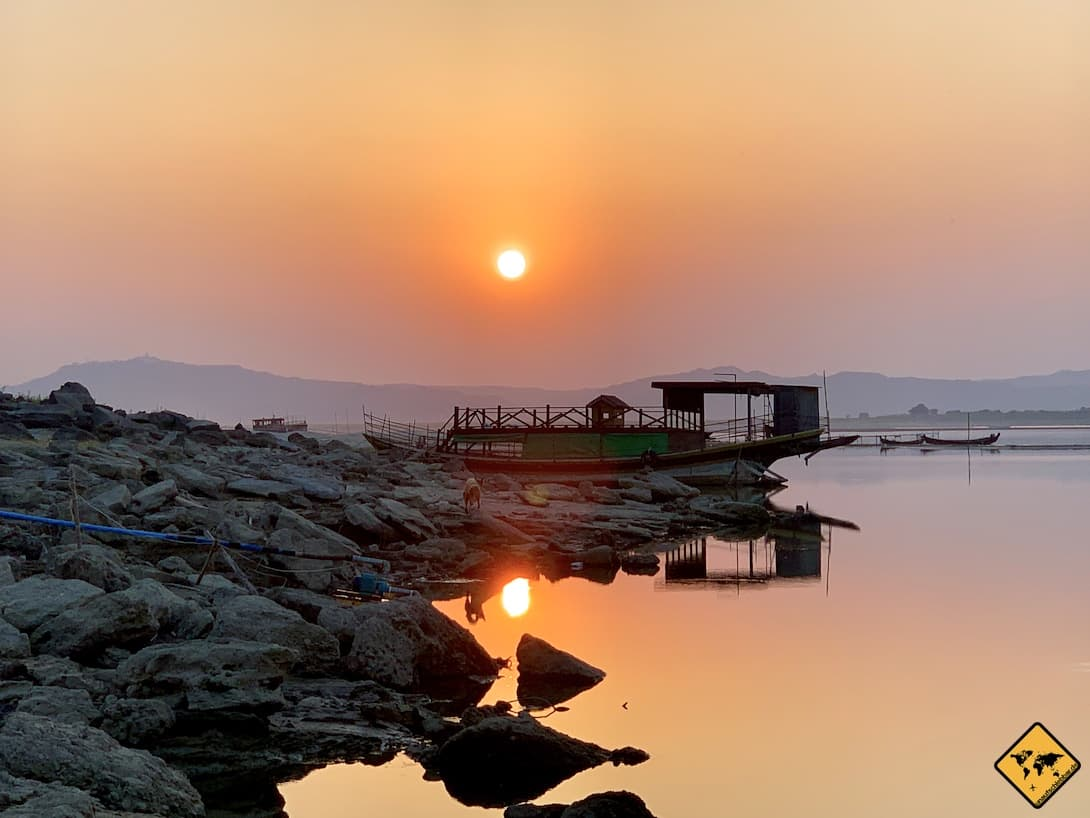 Impfungen für Myanmar Irrawaddy Fluss Mückengefahr