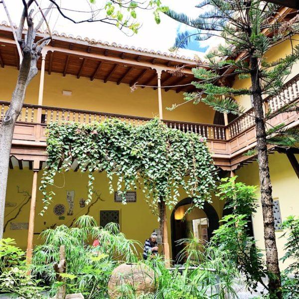 Innenhof Casa de Colón Las Palmas