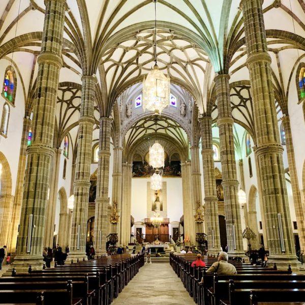 Innenraum Kathedrale Santa Ana