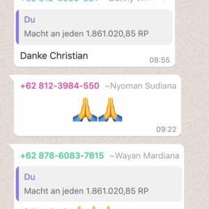 Inside Bali 3 - WhatsApp Danke