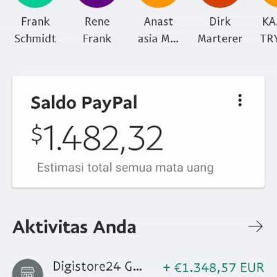 Inside Bali PayPal Überweisung Juni 2020