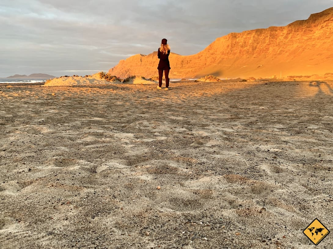 Insider Tipps Lanzarote Caleta de Famara Strand